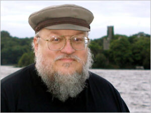 George R.R. Martin Plays 'GRR vs. JRR'