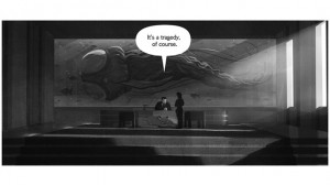 Noir-style Comic Set in the World of Pokémon