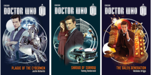 "Three New ""Doctor Who"" Novels Hit the Shelves in April"