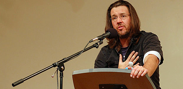 the message of david foster in his commencement speech at kenyon college In 2005, kenyon college, in ohio, invited david foster wallace to speak to its graduating students he never expected his commencement speech would be transcribed by an audience member, posted on the internet, tattooed on people's bodies or talked about in a blogpost about books that give you.