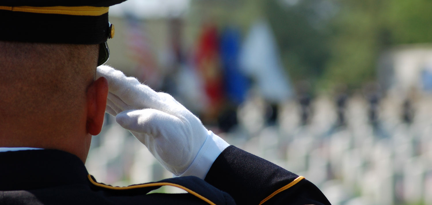 Soldier-Saluting
