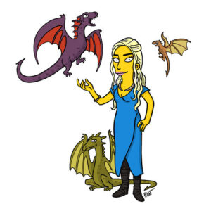 "'Game of Thrones' Characters ""Simpsonized"""