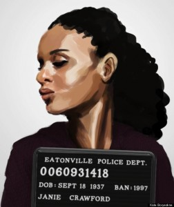 Mug Shots Of Characters From Banned Books
