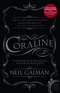 Banned Book Review: Coraline by Neil Gaiman