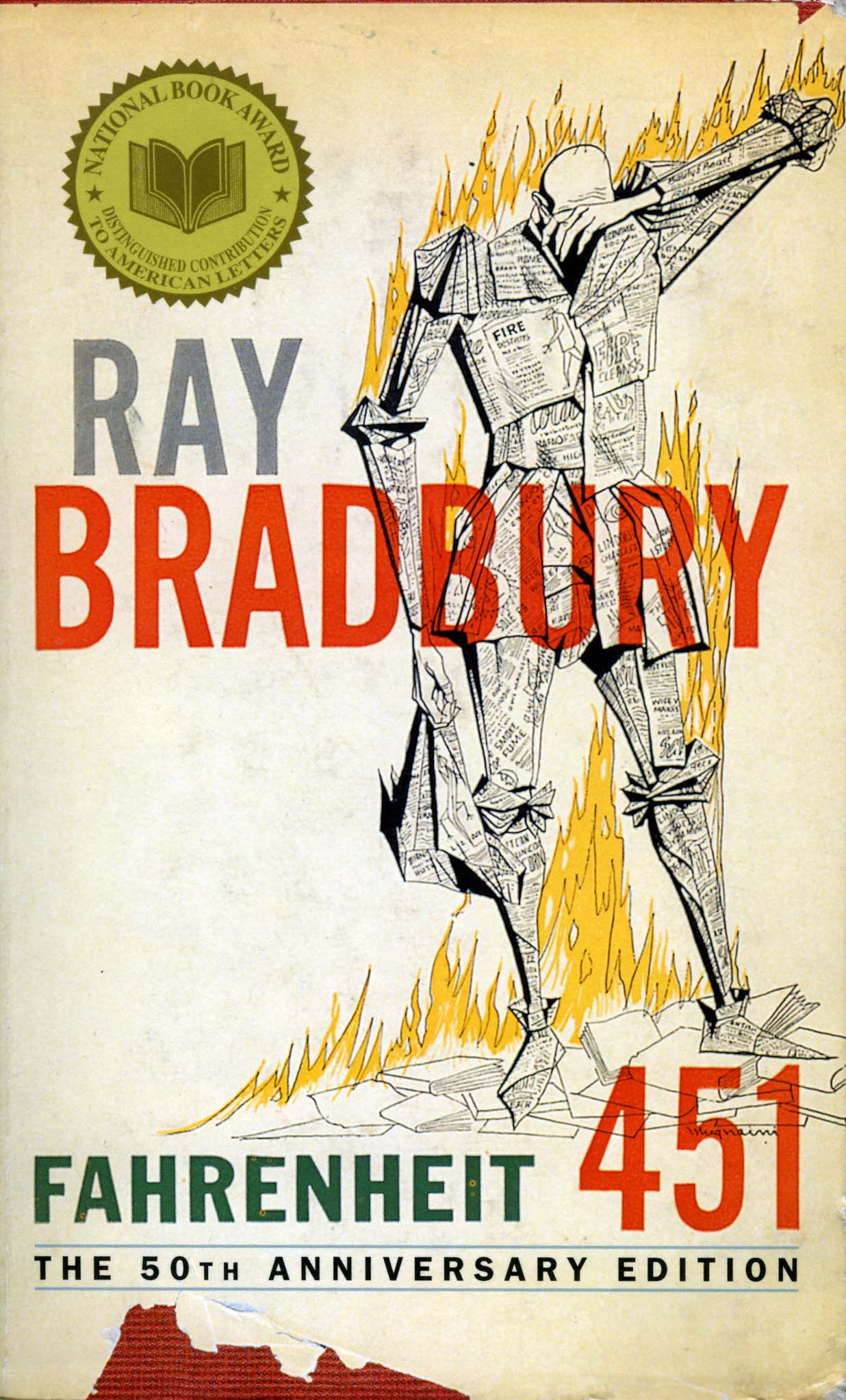 the important symbol of burning in fahrenheit 451 by ray bradbury Symbols, motifs and themes in fahrenheit 451 1  while he was burning some books,  .