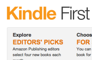 Amazon Giving Early Access to Kindle Books