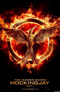 Official Poster for 'The Hunger Games: Mockingjay Part 1'