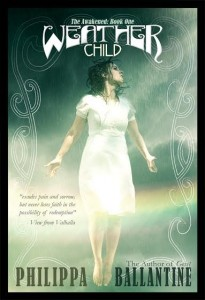 Cover Reveal: Weather Child by Philippa (Pip) Ballantine