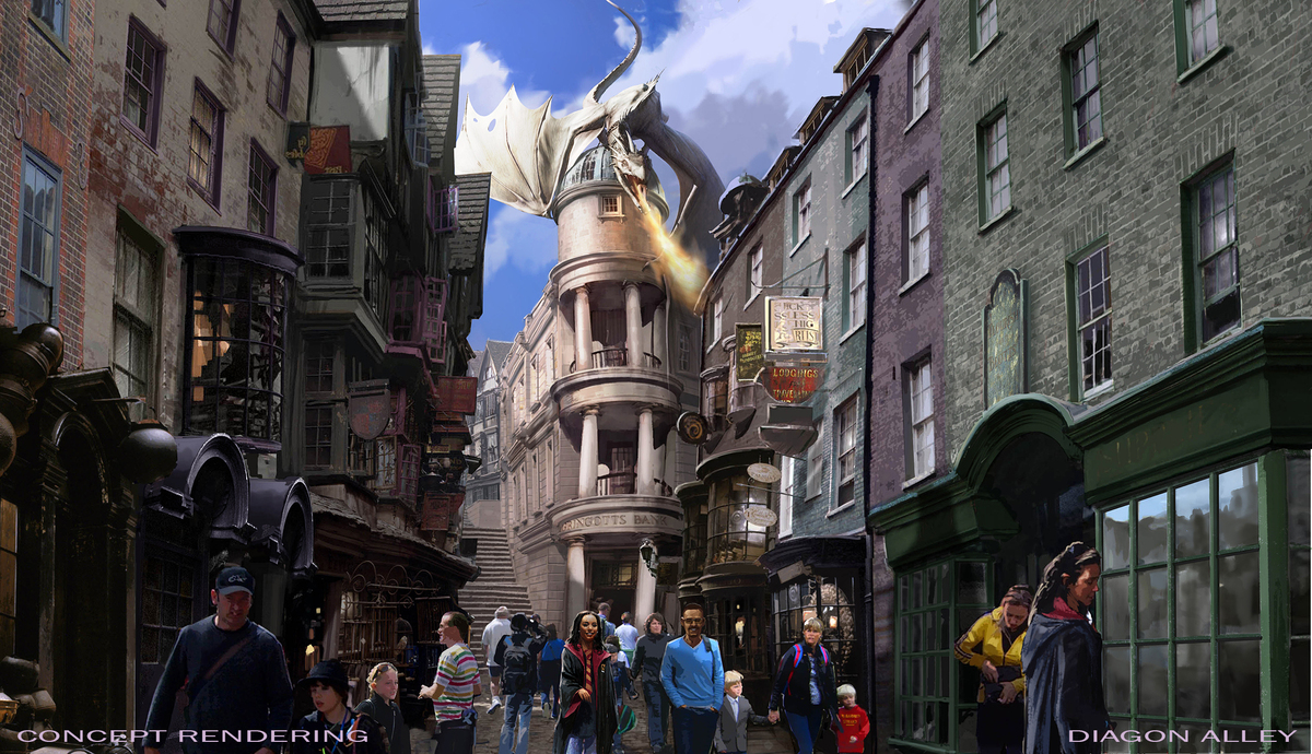 harry potter land england