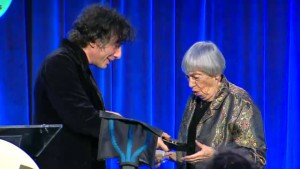 Neil Gaiman and Ursula Le Guin