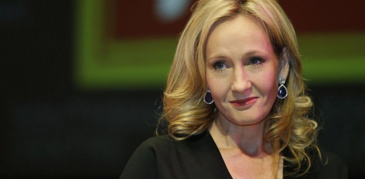 JK Rowling larger