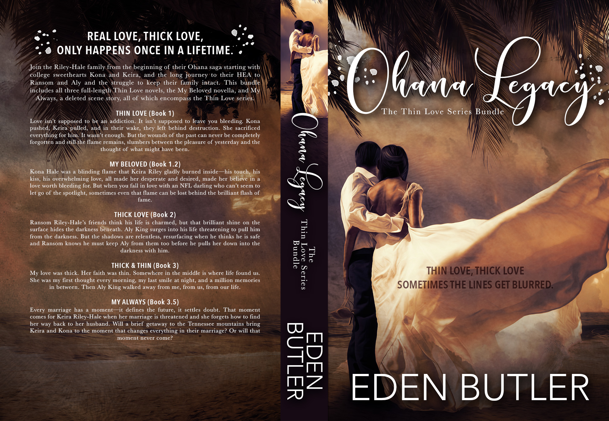 This bundle includes all three full-length Thin Love novels, the My Beloved  novella, and My Always, a deleted scene story, all of which encompass the  Thin ...
