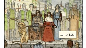 LitStack Review – Yvain: The Knight of the Lion by M. T. Anderson, Illustrated by Andrea Offermann