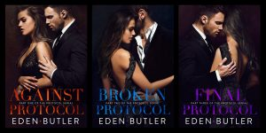 Cover Reveal: The Protocol Serial by Eden Butler